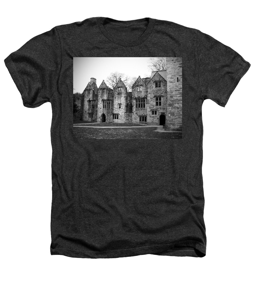 Irish Heathers T-Shirt featuring the photograph Jacobean Wing At Donegal Castle Ireland by Teresa Mucha