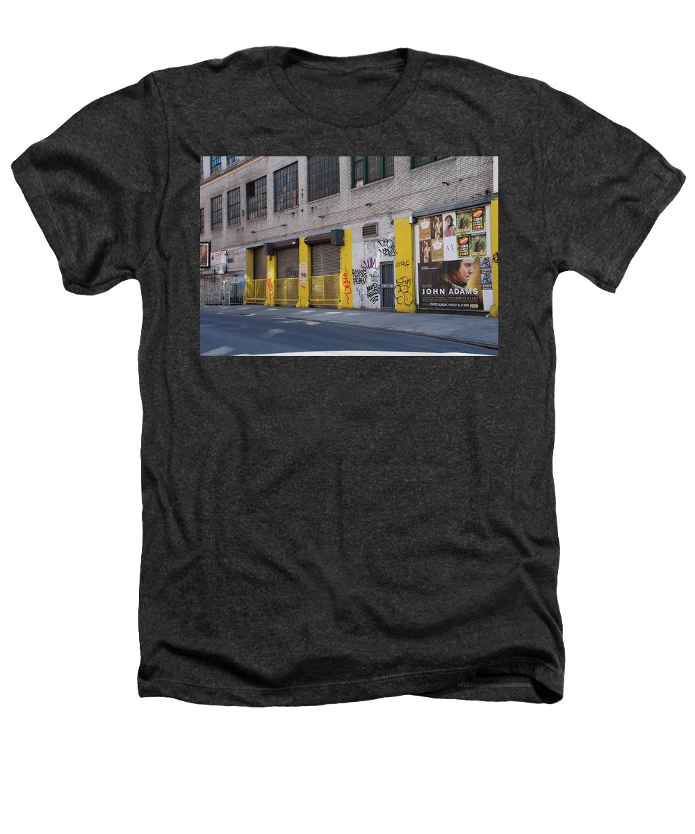 Architecture Heathers T-Shirt featuring the photograph John Adams by Rob Hans