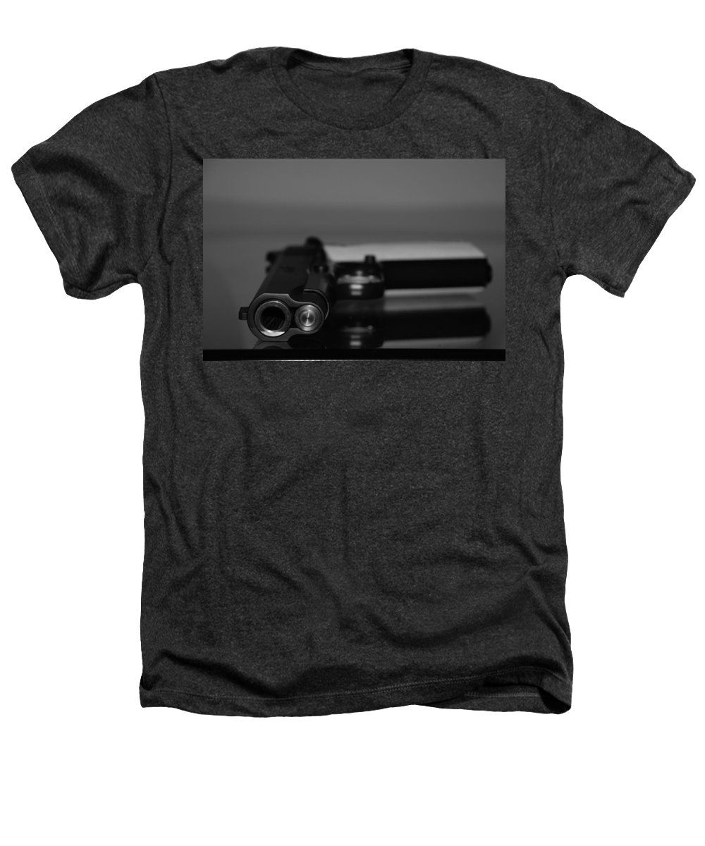 45 Auto Heathers T-Shirt featuring the photograph Kimber 45 by Rob Hans