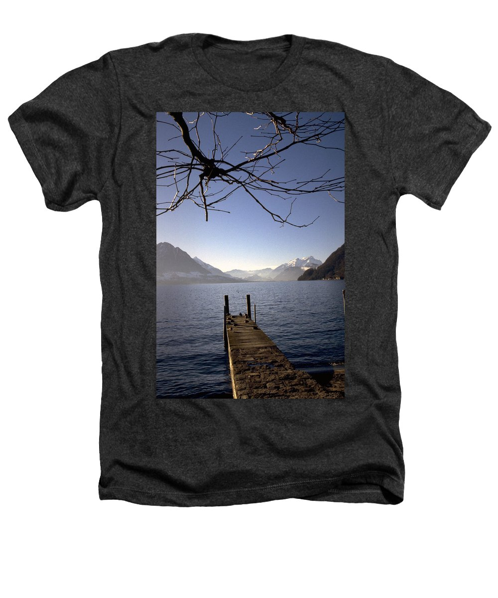 Lake Lucerne Heathers T-Shirt featuring the photograph Lake Lucerne by Flavia Westerwelle
