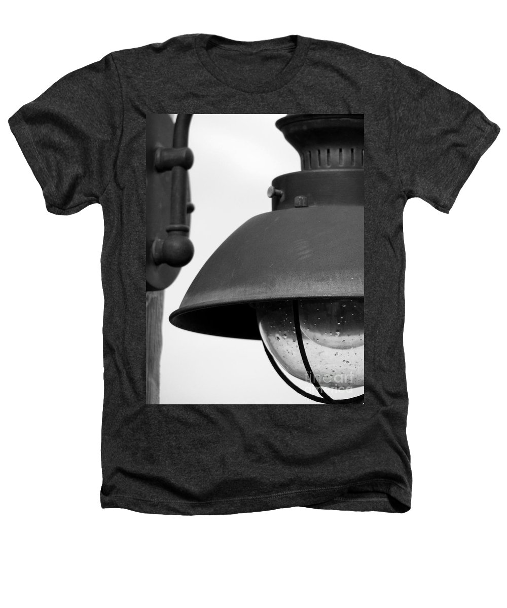 Lamppost Heathers T-Shirt featuring the photograph Lamp Post by Amanda Barcon