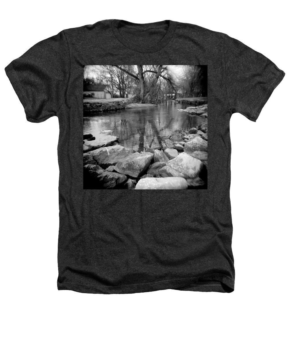 Photograph Heathers T-Shirt featuring the photograph Le Tort Reflection by Jean Macaluso