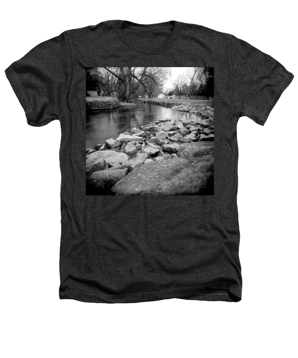 Photograph Heathers T-Shirt featuring the photograph Le Tort Spring Run by Jean Macaluso