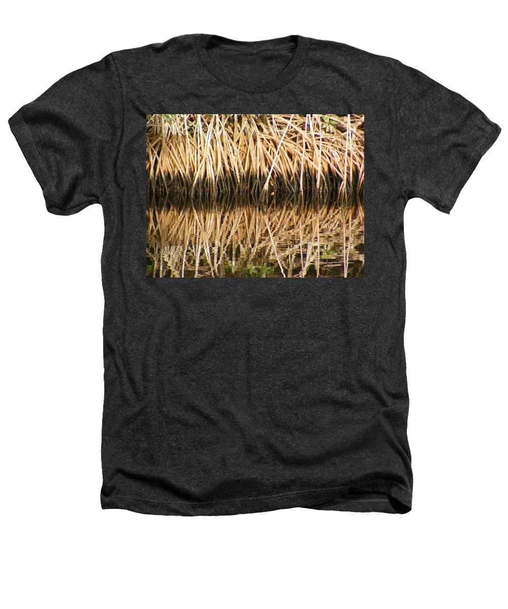 Plants Heathers T-Shirt featuring the photograph Little Feet by Ed Smith