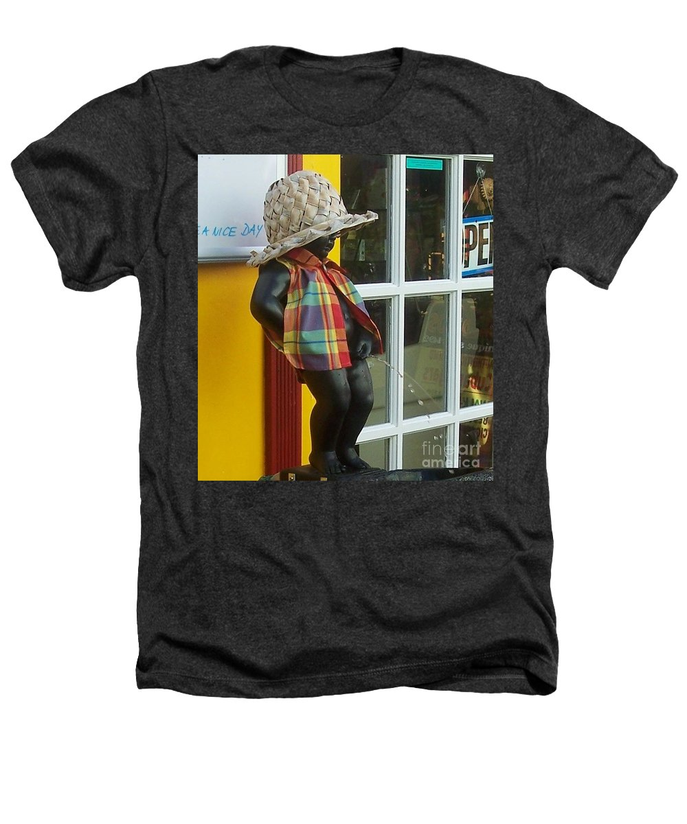 Fountain Heathers T-Shirt featuring the photograph Little Wiz by Debbi Granruth