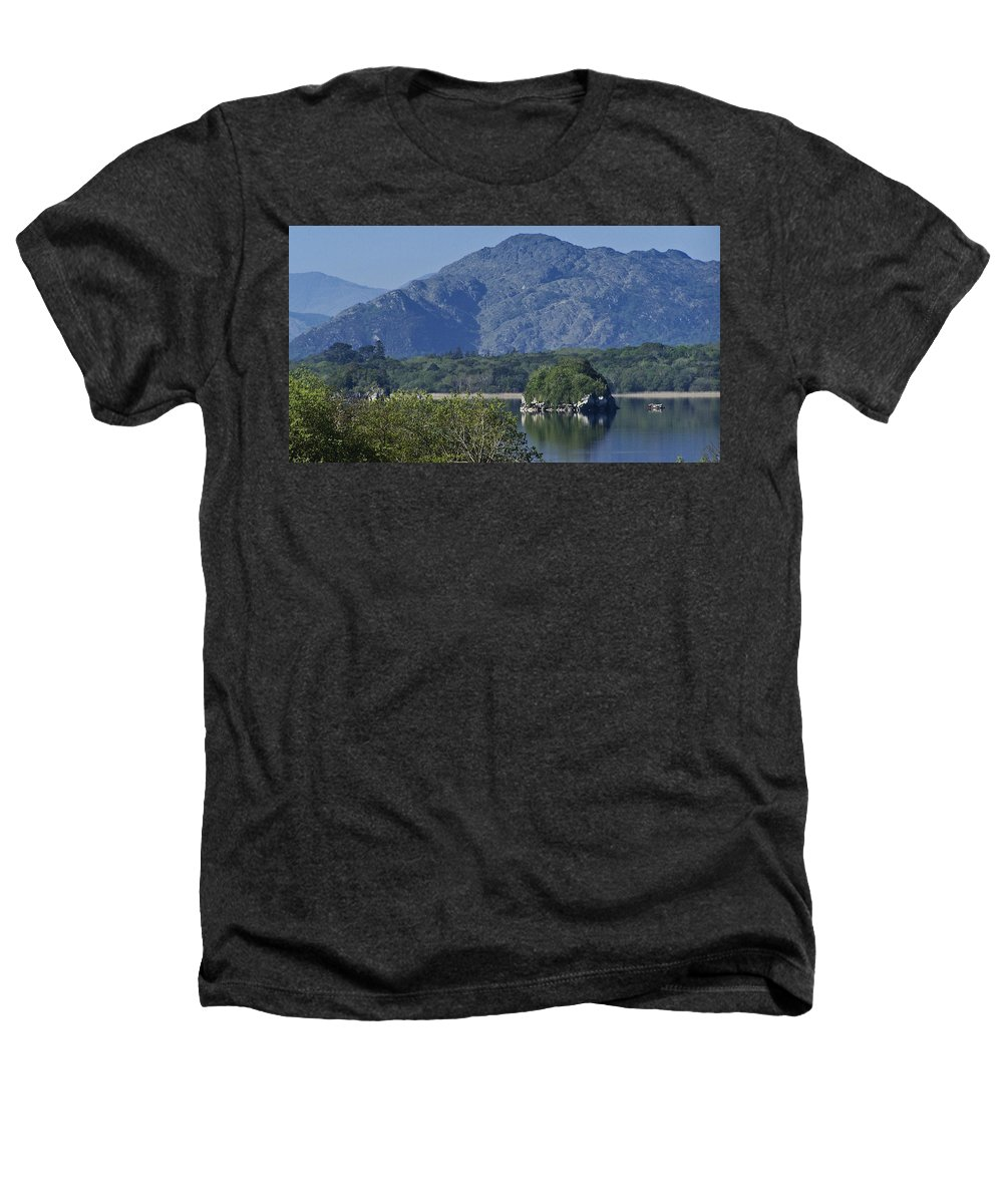 Irish Heathers T-Shirt featuring the photograph Loch Leanne Killarney Ireland by Teresa Mucha