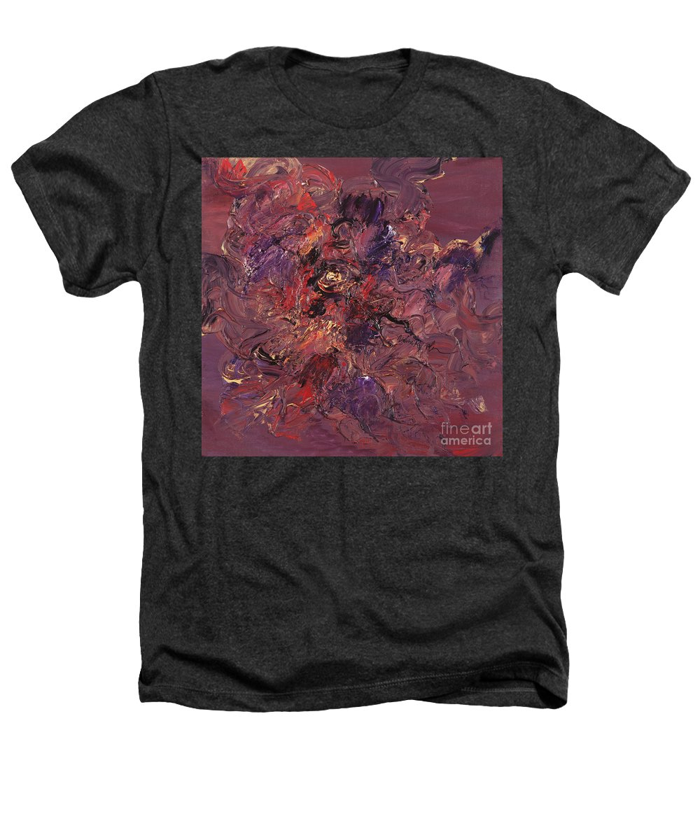 Love Heathers T-Shirt featuring the painting Love by Nadine Rippelmeyer