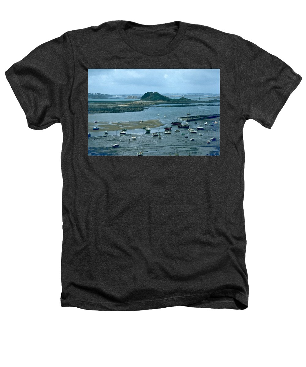 Low Tide Heathers T-Shirt featuring the photograph Low Tide by Flavia Westerwelle