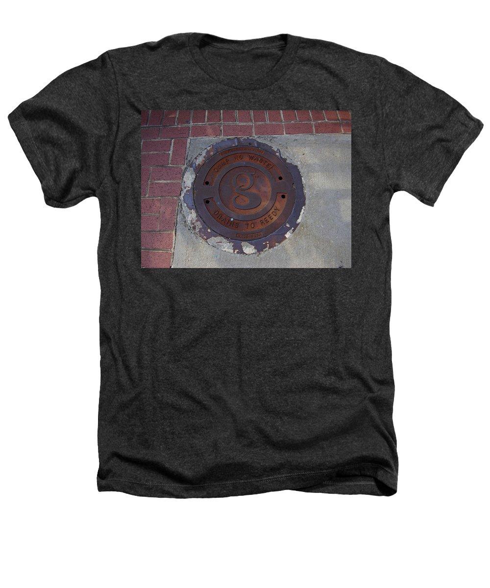Manhole Heathers T-Shirt featuring the photograph Manhole II by Flavia Westerwelle