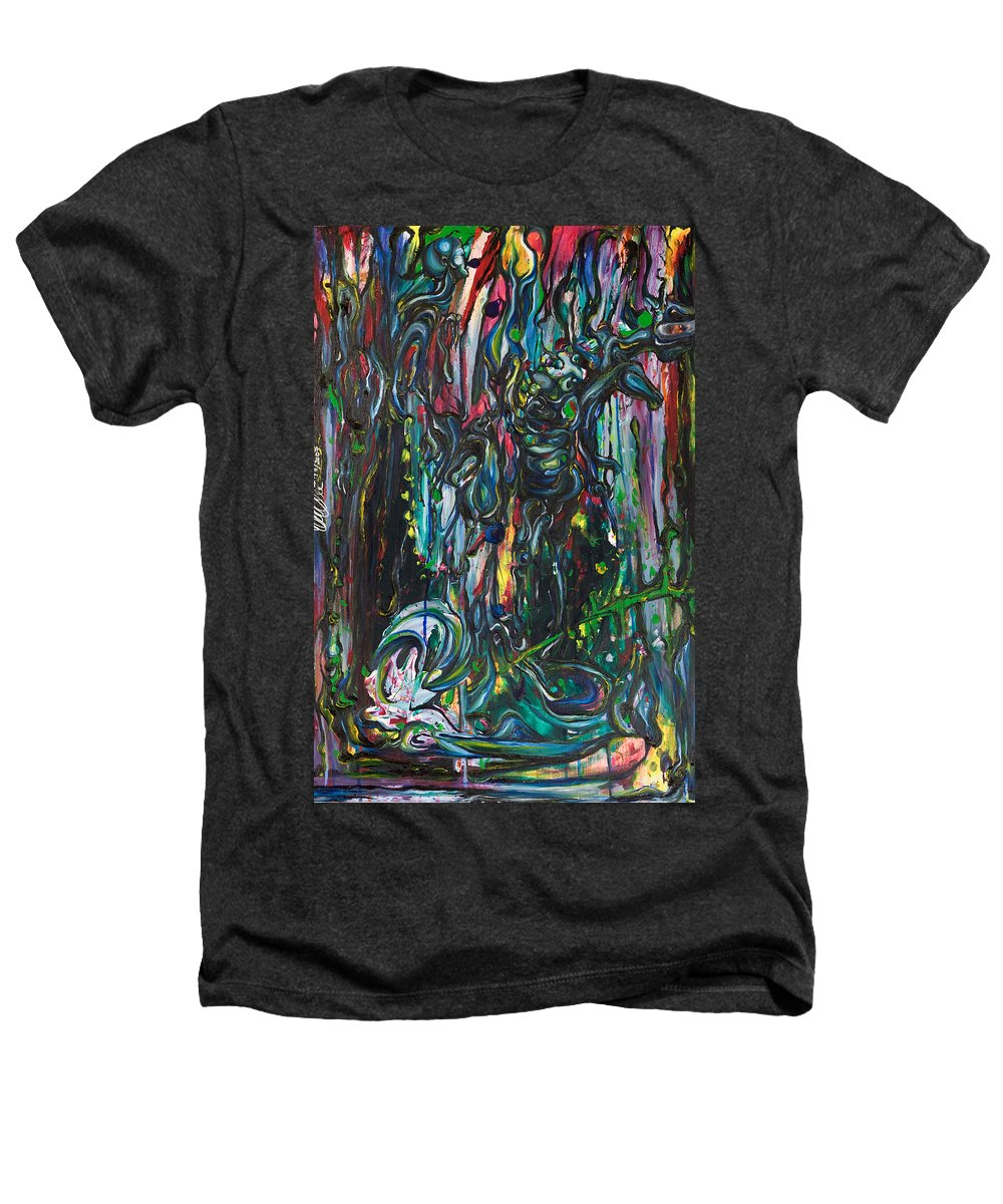 Surreal Heathers T-Shirt featuring the painting March Into The Sea by Sheridan Furrer