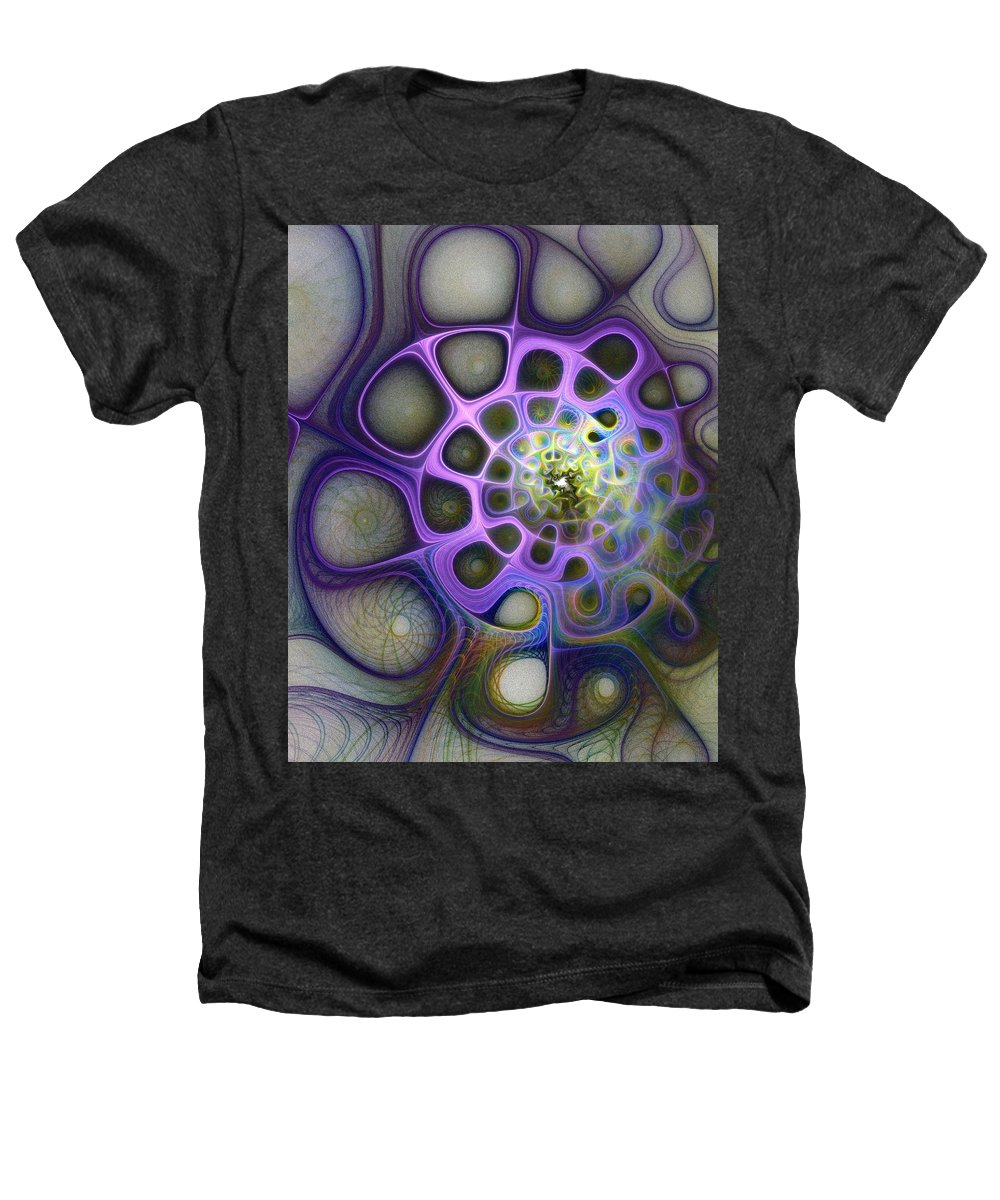 Digital Art Heathers T-Shirt featuring the digital art Mindscapes by Amanda Moore
