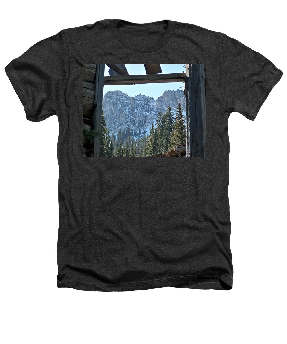 Mountain Heathers T-Shirt featuring the photograph Miners Lost View by Michael Cuozzo