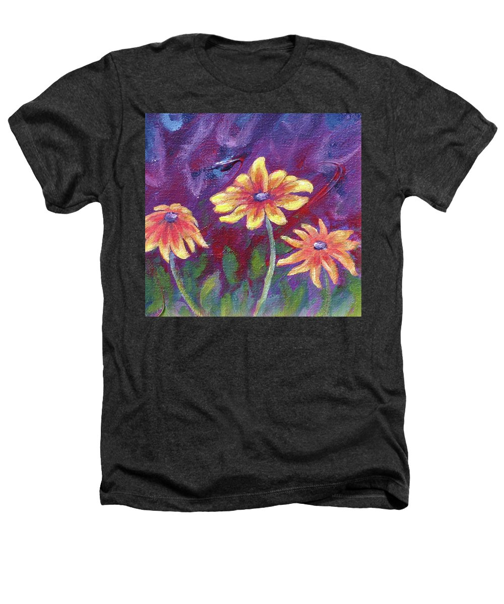 Small Acrylic Painting Heathers T-Shirt featuring the painting Monet's Small Composition by Jennifer McDuffie