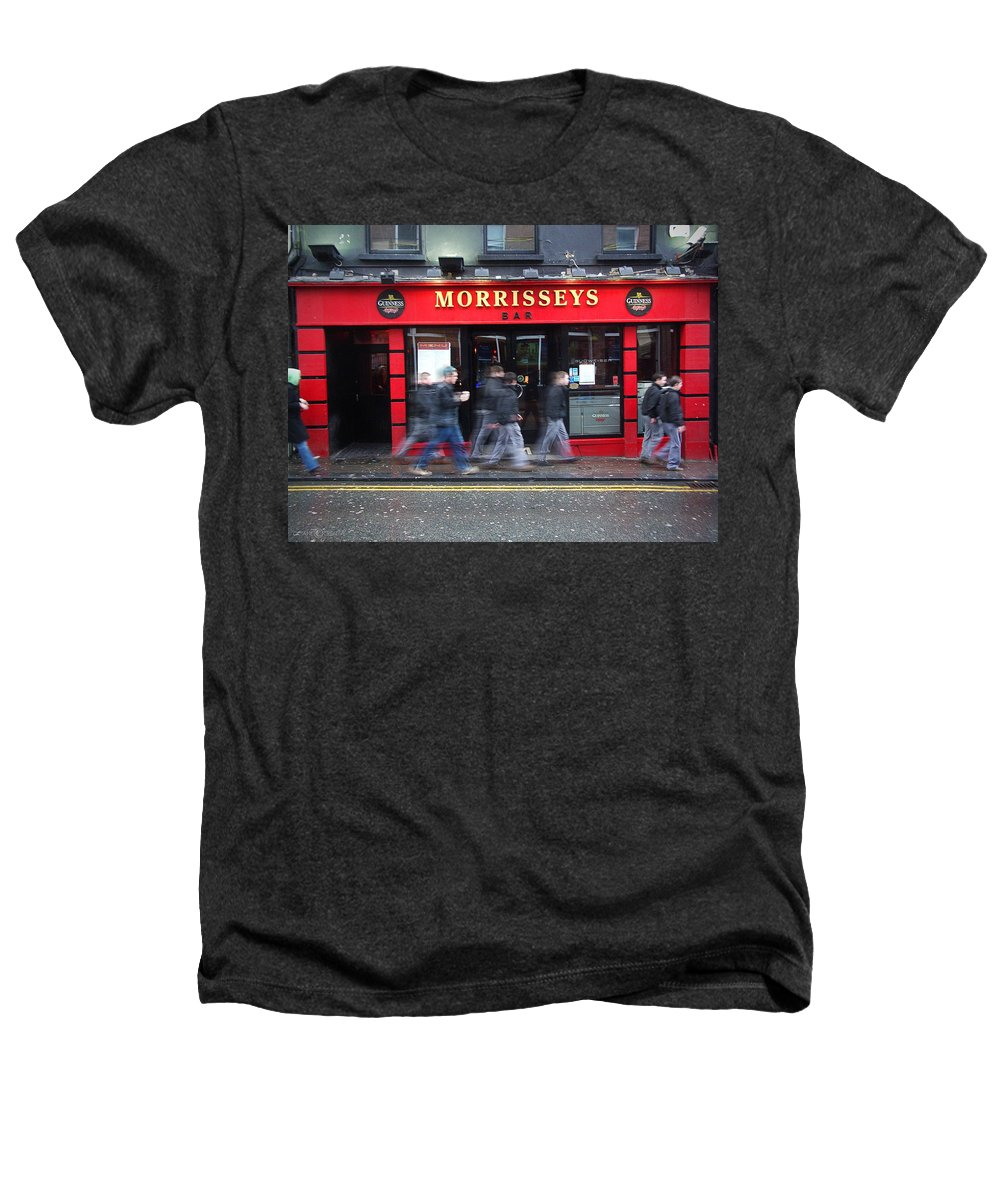 Pub Heathers T-Shirt featuring the photograph Morrissey by Tim Nyberg