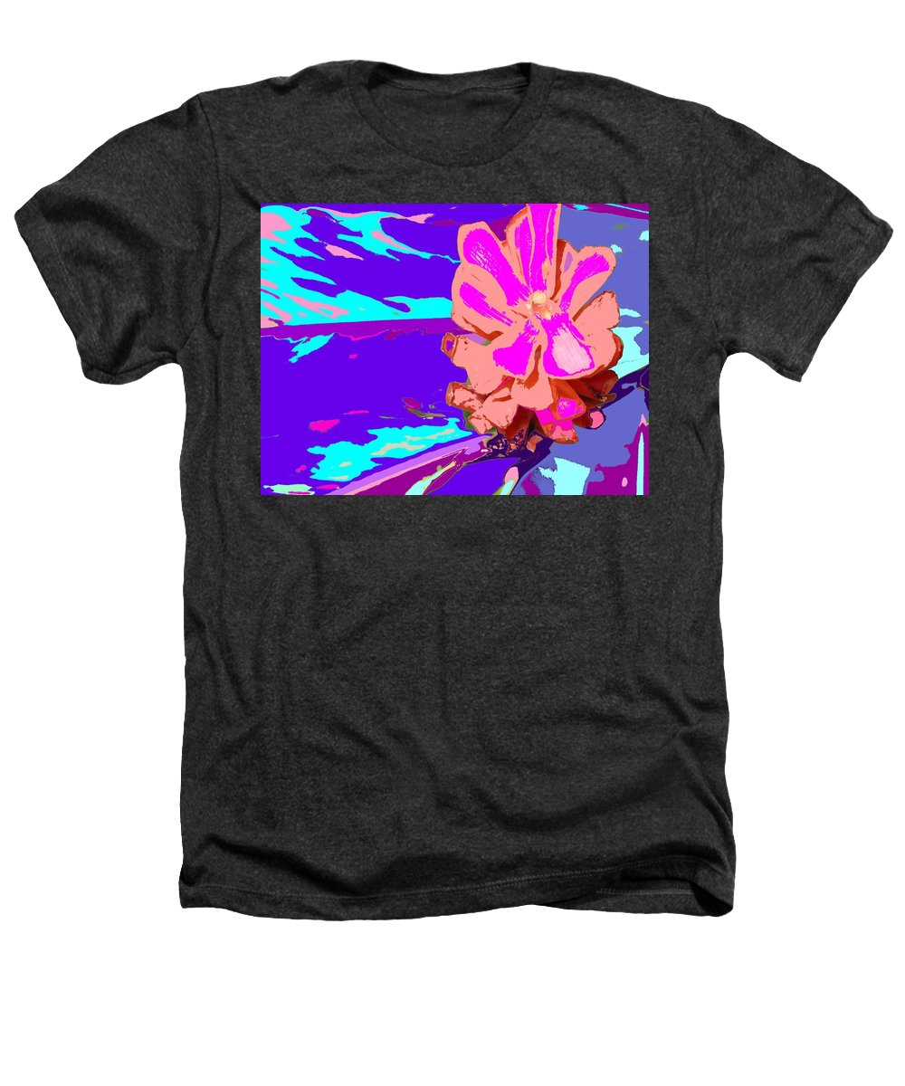 Flower Heathers T-Shirt featuring the photograph Mystical Flower by Ian MacDonald