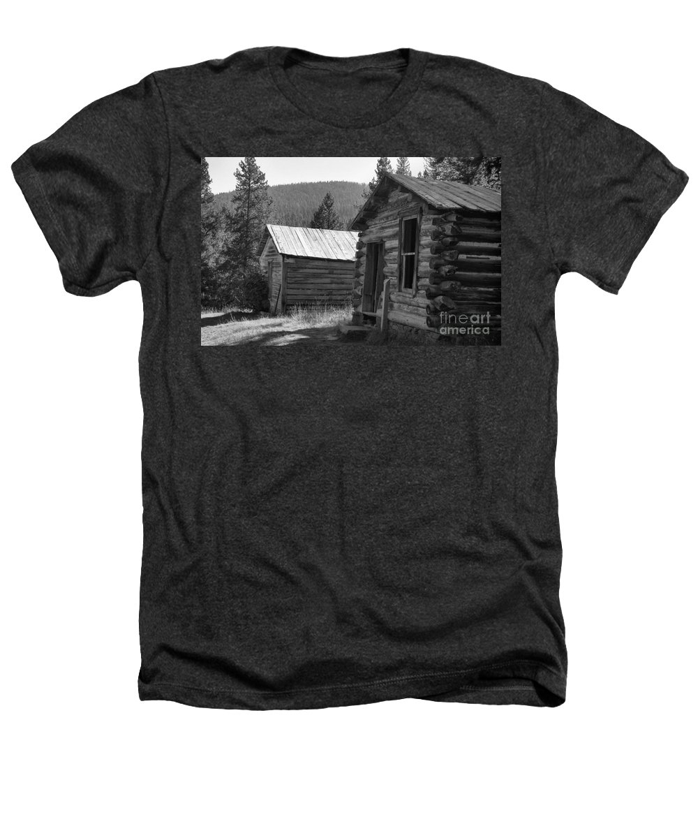Abandoned Heathers T-Shirt featuring the photograph Neighbors by Richard Rizzo