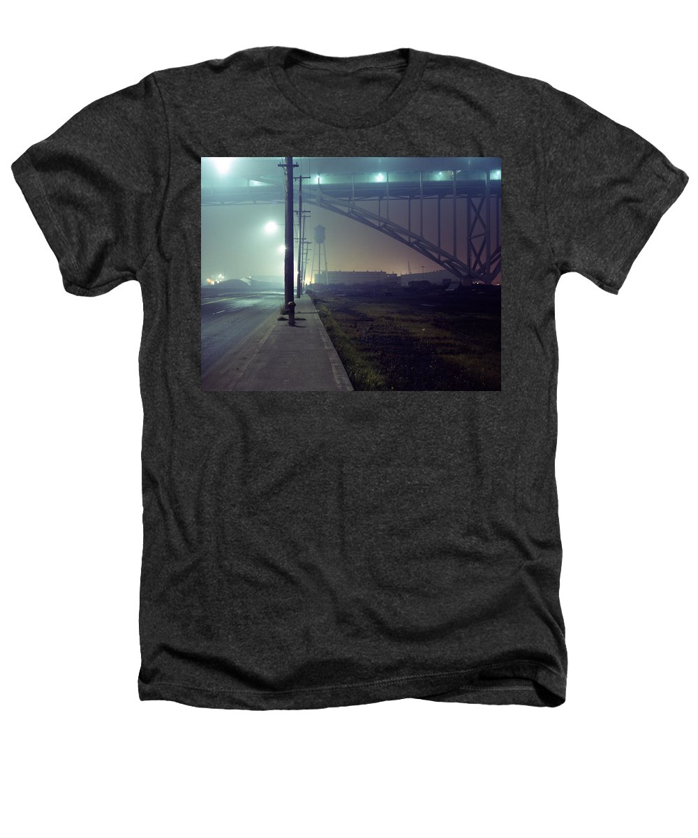 Night Photo Heathers T-Shirt featuring the photograph Nightscape 2 by Lee Santa