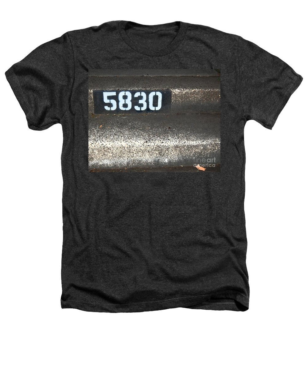 Numbers Heathers T-Shirt featuring the photograph Numbers by Debbi Granruth