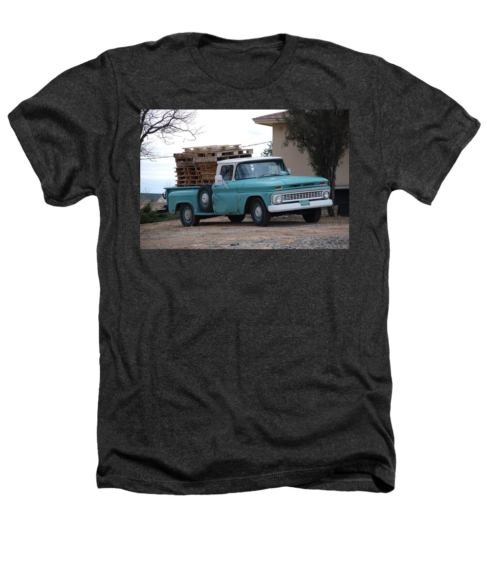 Old Truck Heathers T-Shirt featuring the photograph Old Chevy by Rob Hans