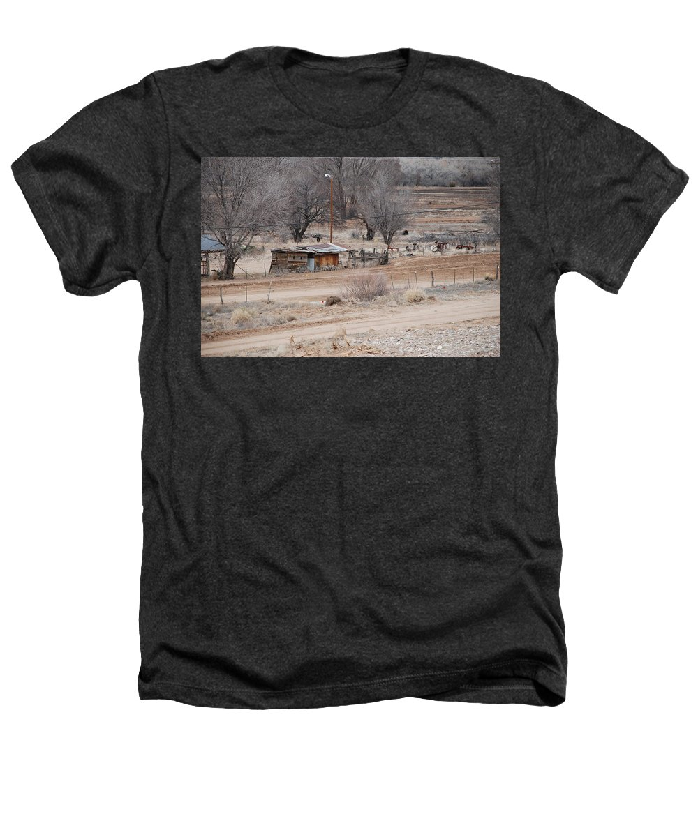 House Heathers T-Shirt featuring the photograph Old Ranch House by Rob Hans