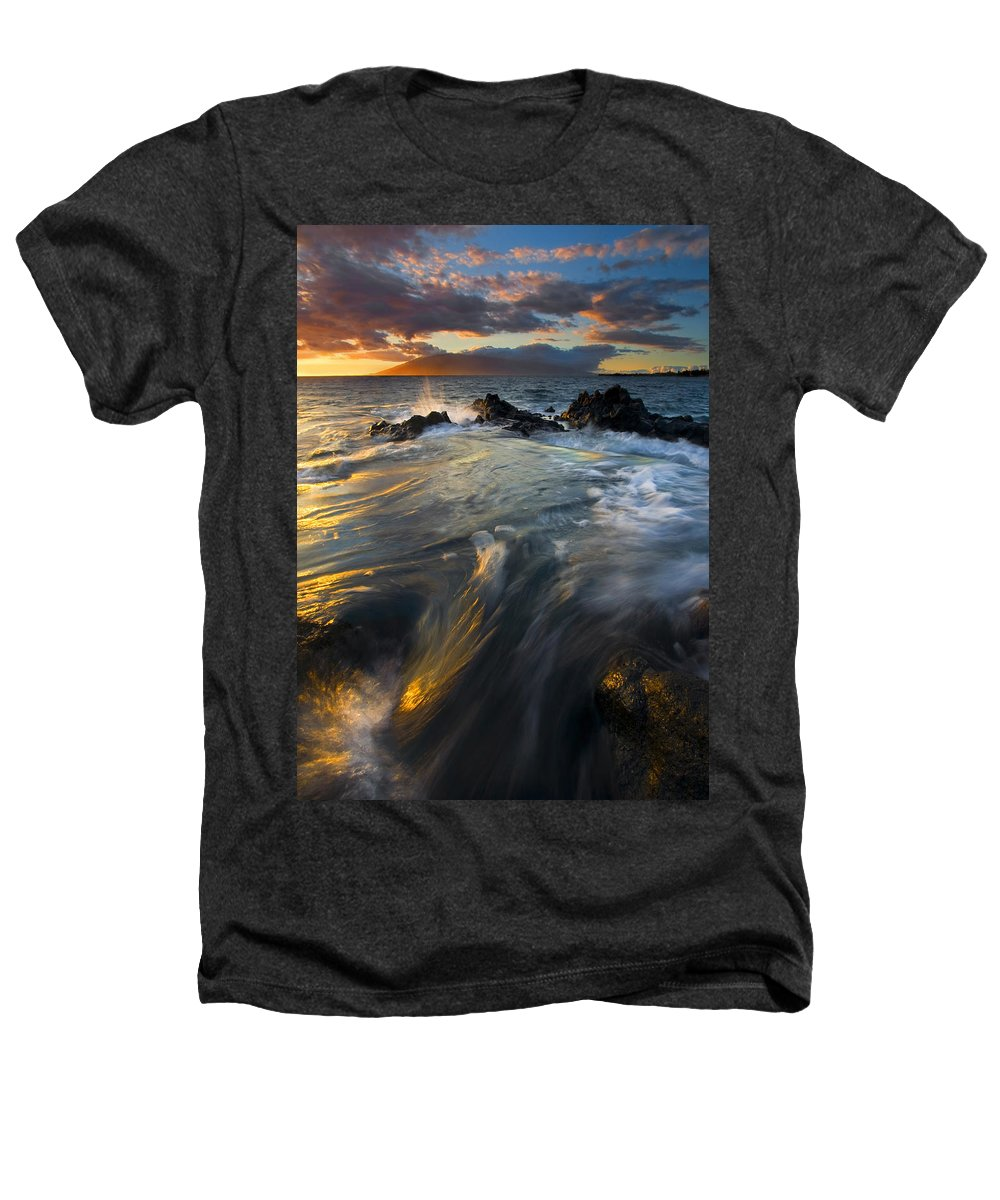 Cauldron Heathers T-Shirt featuring the photograph Overflow by Mike Dawson