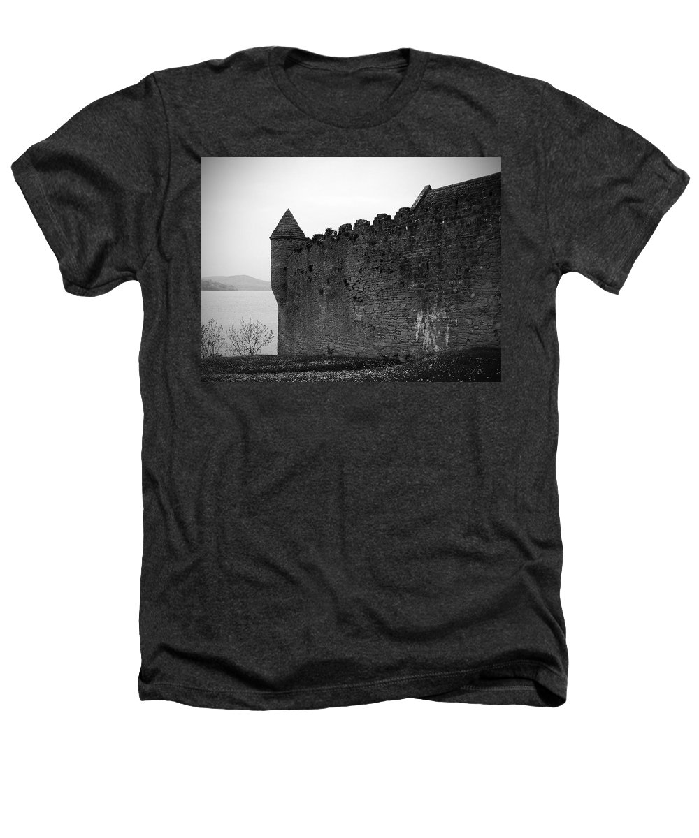 Ireland Heathers T-Shirt featuring the photograph Parkes Castle County Leitrim Ireland by Teresa Mucha