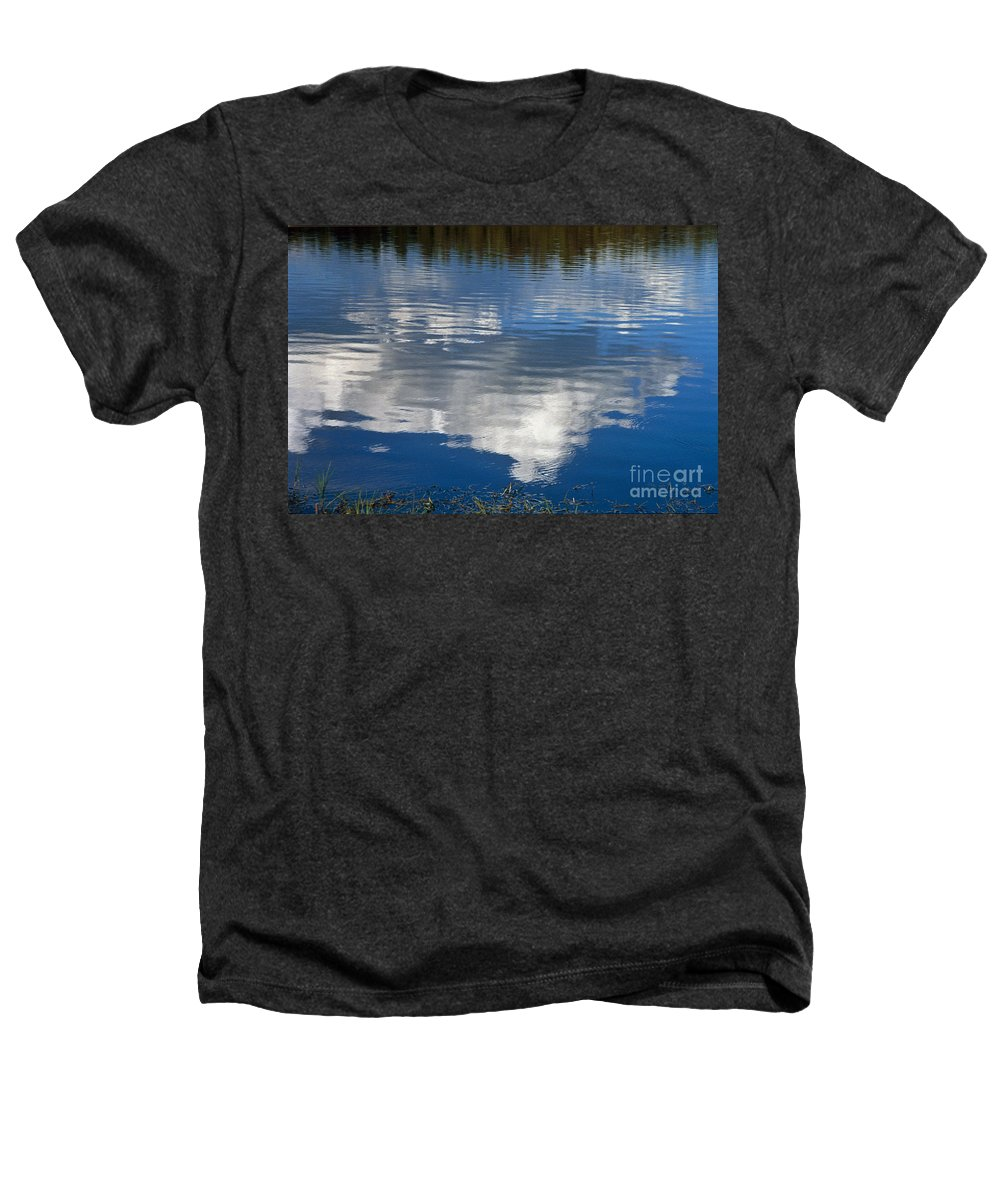 Landscape Heathers T-Shirt featuring the photograph Peace by Kathy McClure