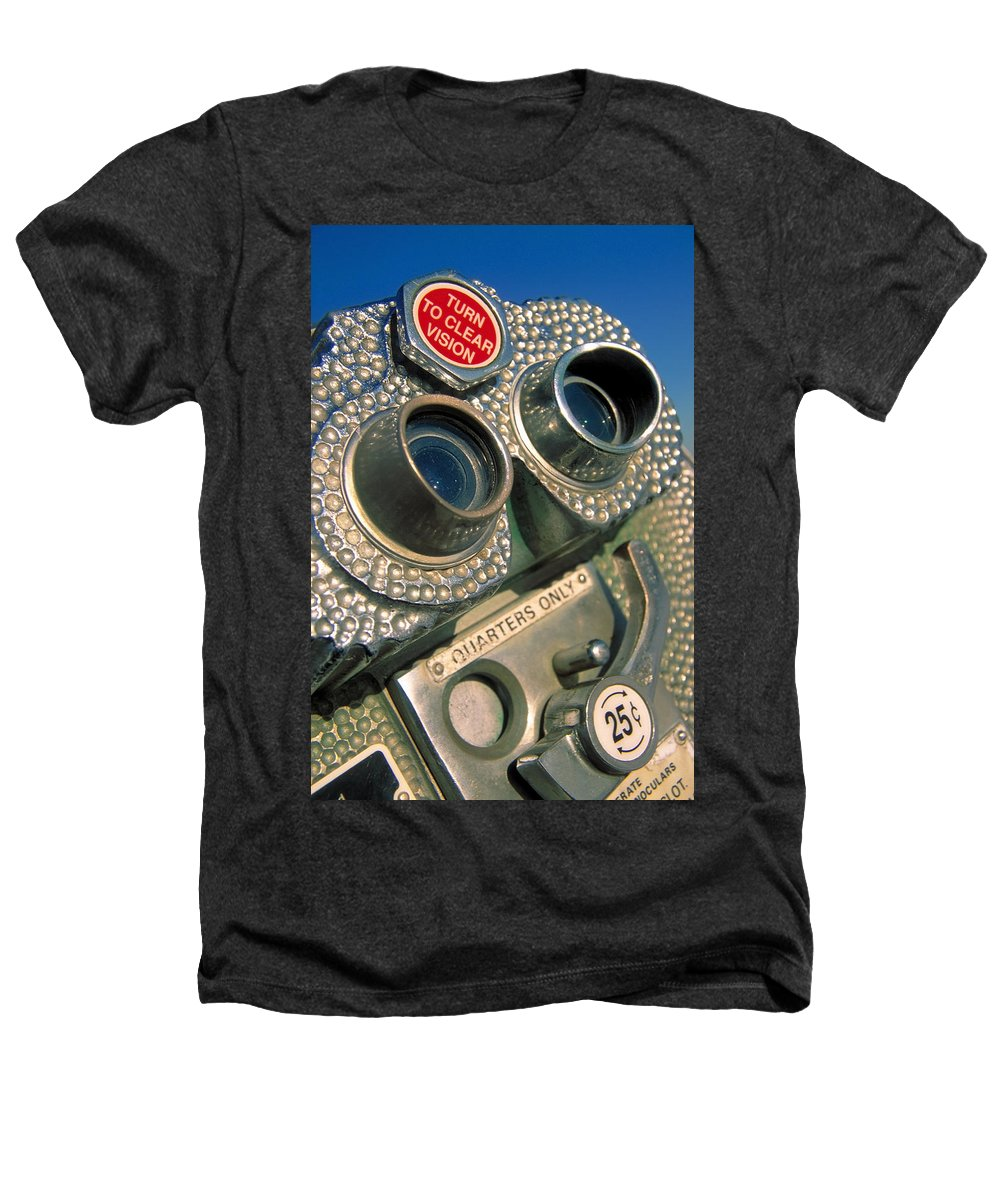 View Heathers T-Shirt featuring the photograph Peep Show by Skip Hunt