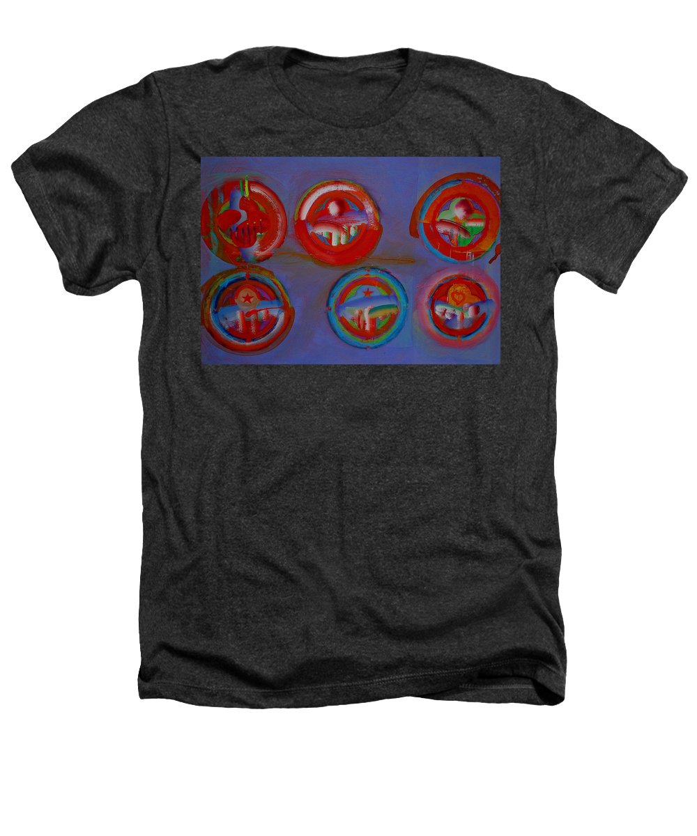 Logo Heathers T-Shirt featuring the painting Plate State by Charles Stuart