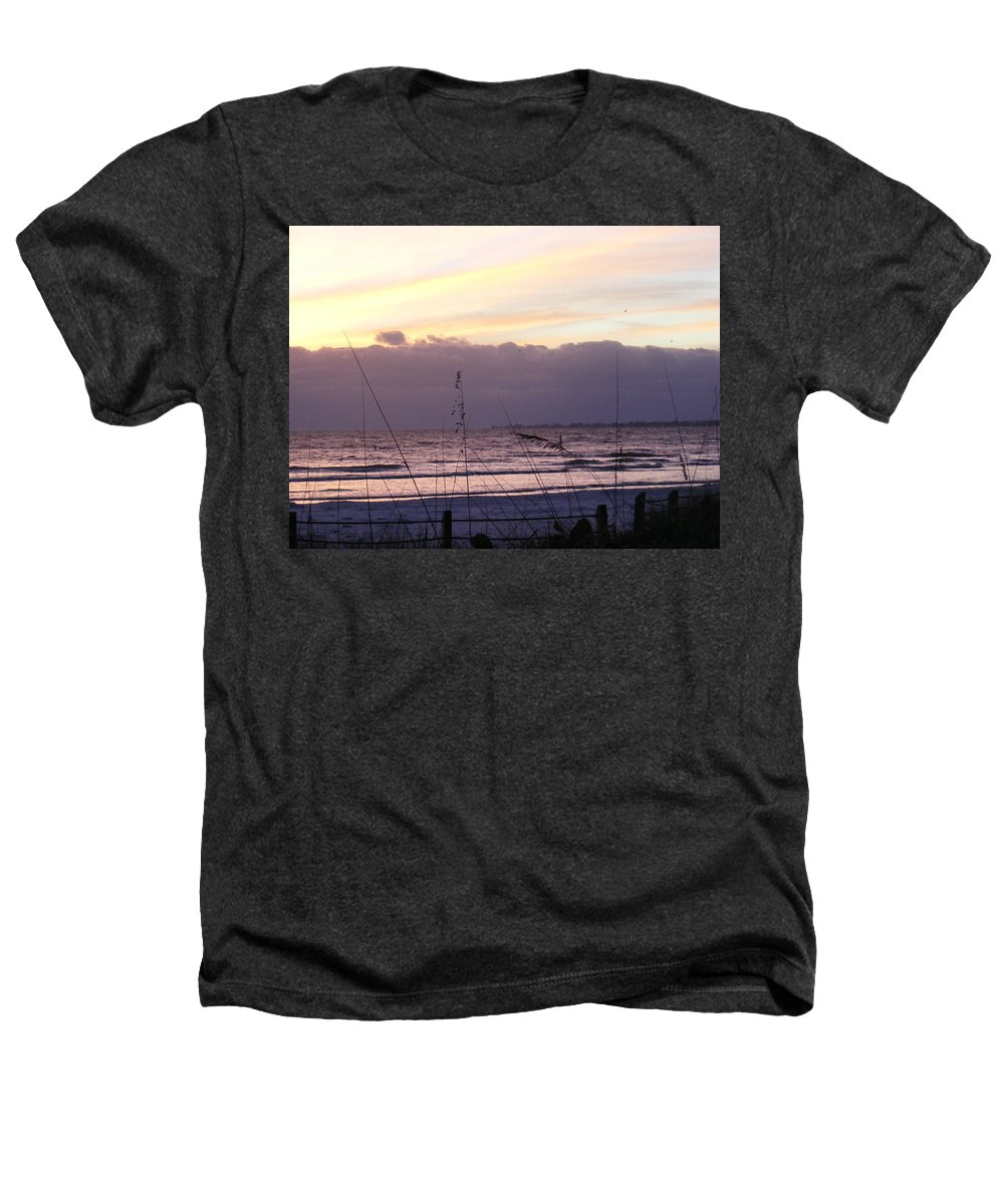 Landscape Heathers T-Shirt featuring the photograph Purple Haze by Ed Smith