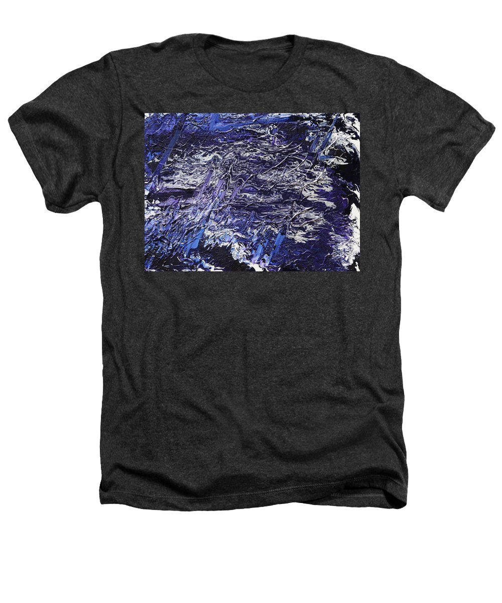 Fusionart Heathers T-Shirt featuring the painting Rapid by Ralph White