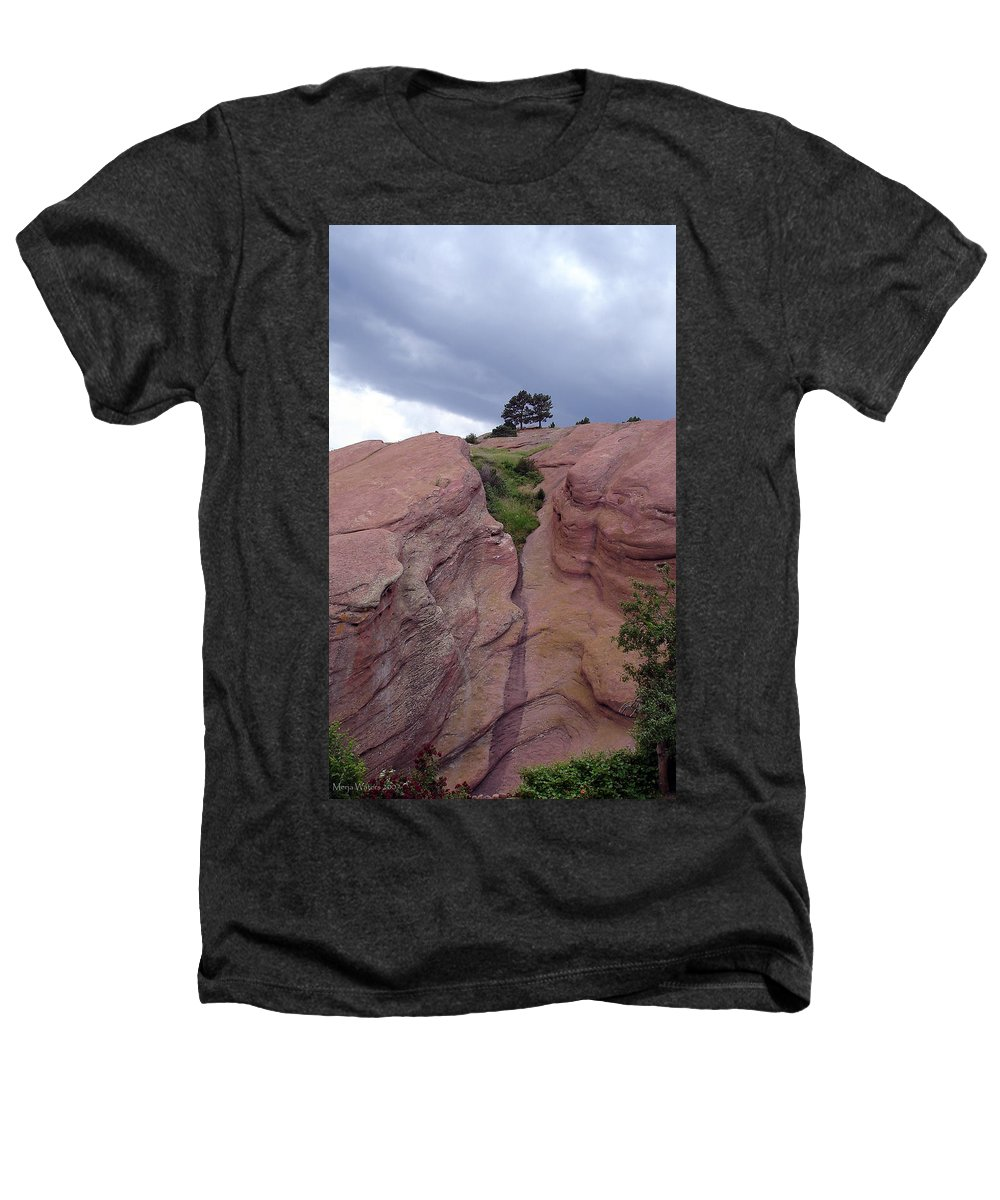 Red Rocks Heathers T-Shirt featuring the photograph Red Rocks by Merja Waters