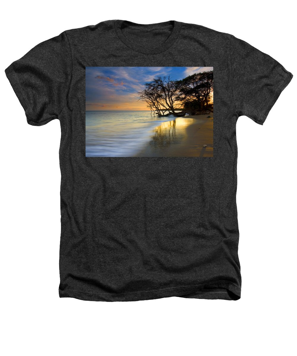 Waves Heathers T-Shirt featuring the photograph Reflections Of Paradise by Mike Dawson