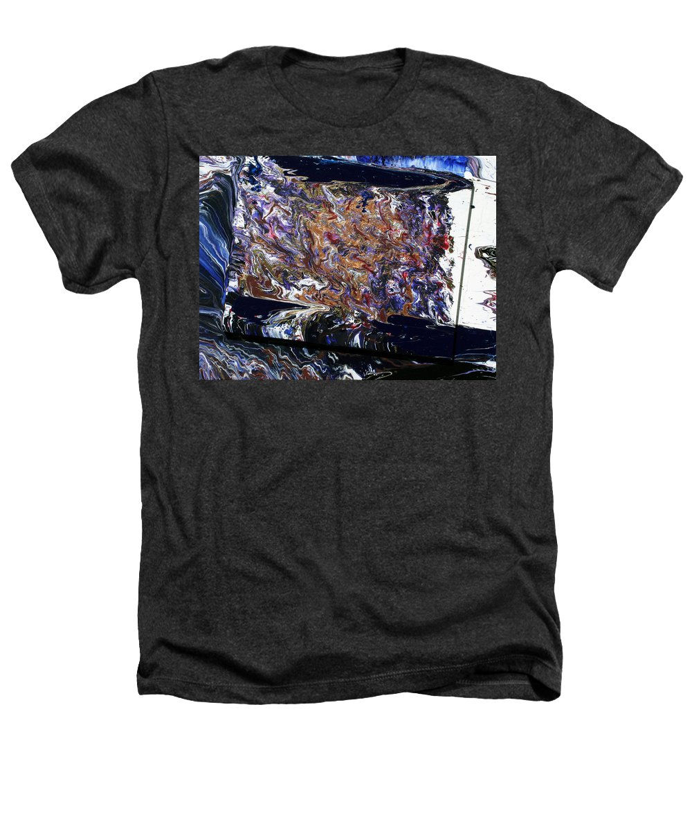 Fusionart Heathers T-Shirt featuring the painting Revolution by Ralph White