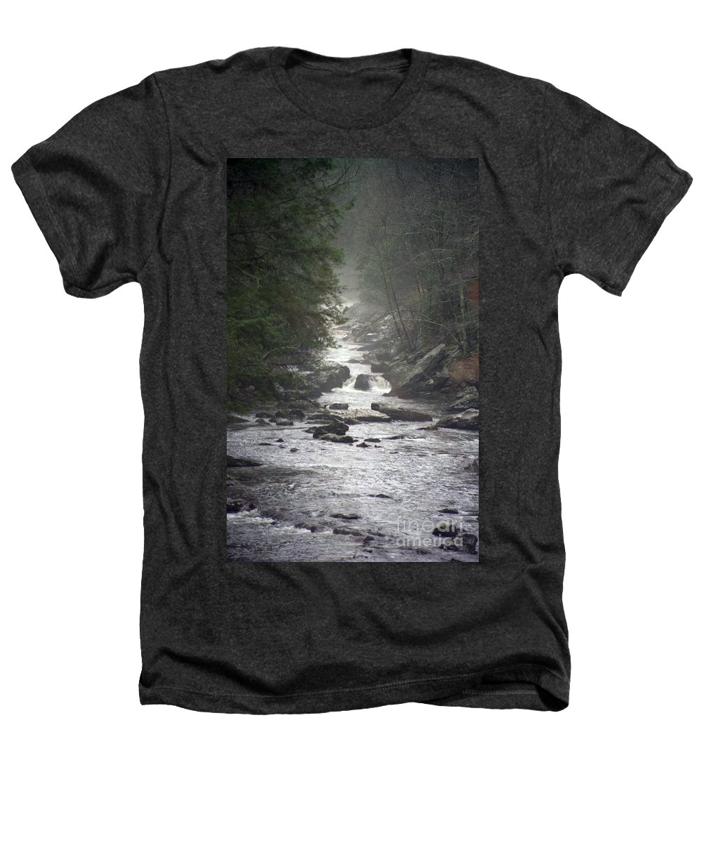 River Heathers T-Shirt featuring the photograph River Run by Richard Rizzo