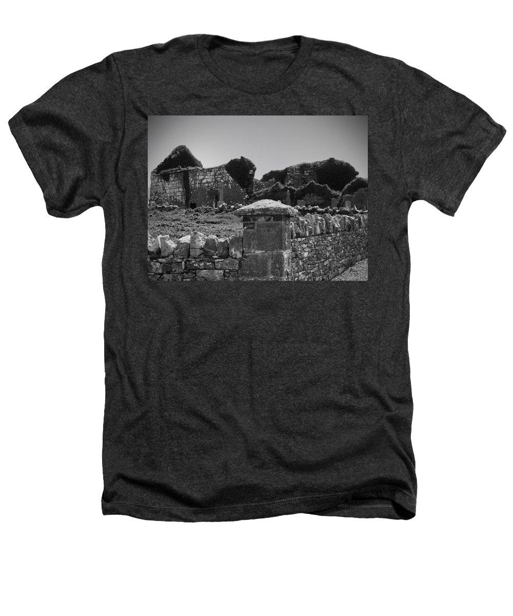 Irish Heathers T-Shirt featuring the photograph Ruins In The Burren County Clare Ireland by Teresa Mucha