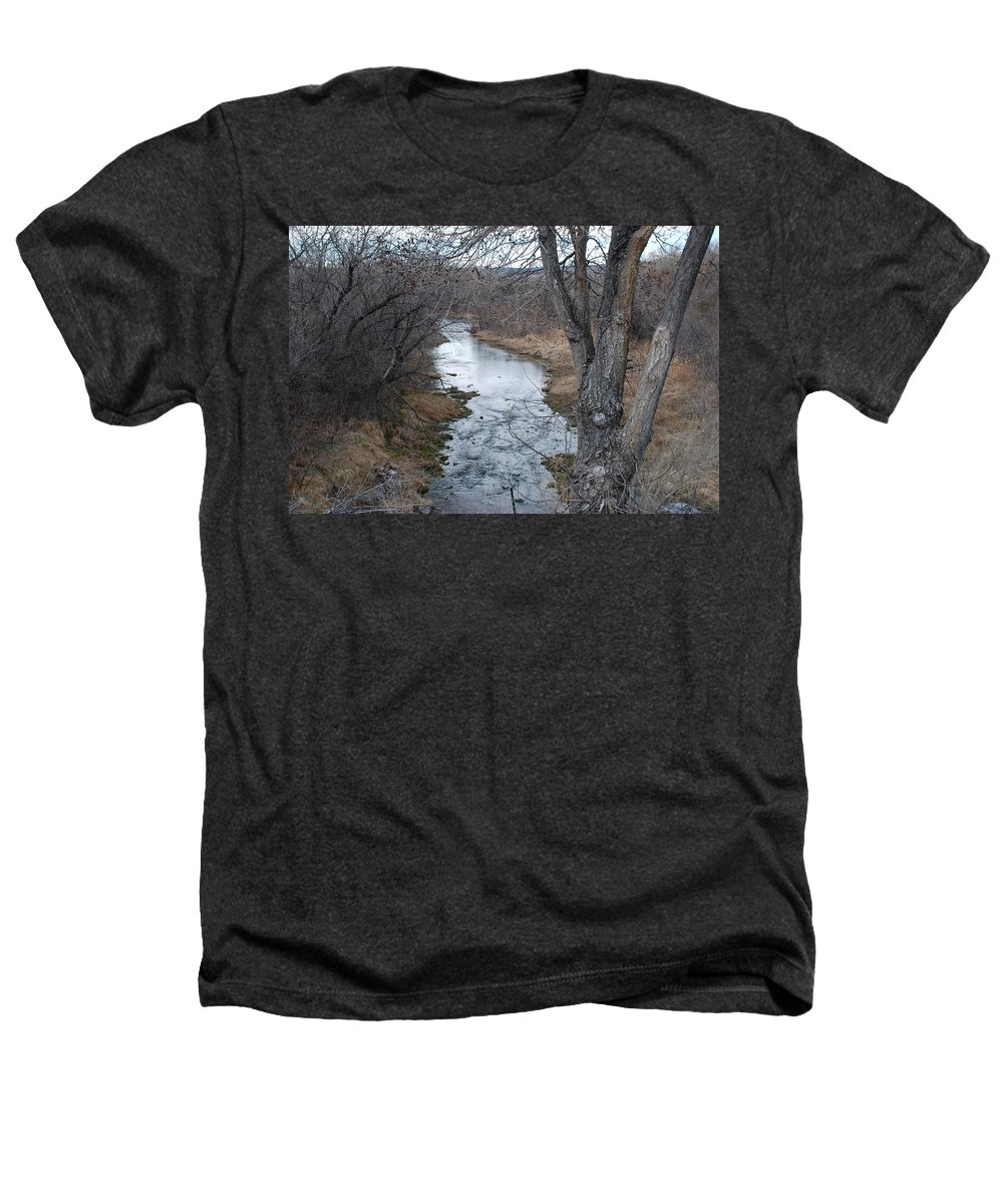Santa Fe Heathers T-Shirt featuring the photograph Santa Fe River by Rob Hans