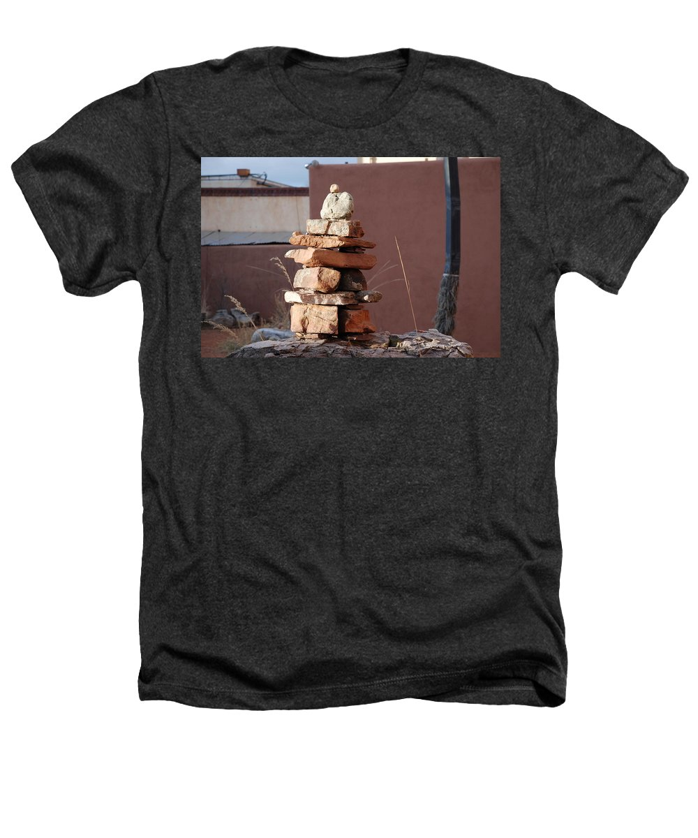 Pop Art Heathers T-Shirt featuring the photograph Sante Fe Rocks by Rob Hans