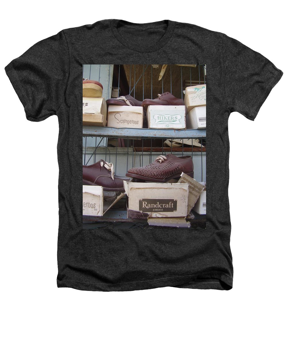 Shoes Heathers T-Shirt featuring the photograph Shoes by Flavia Westerwelle