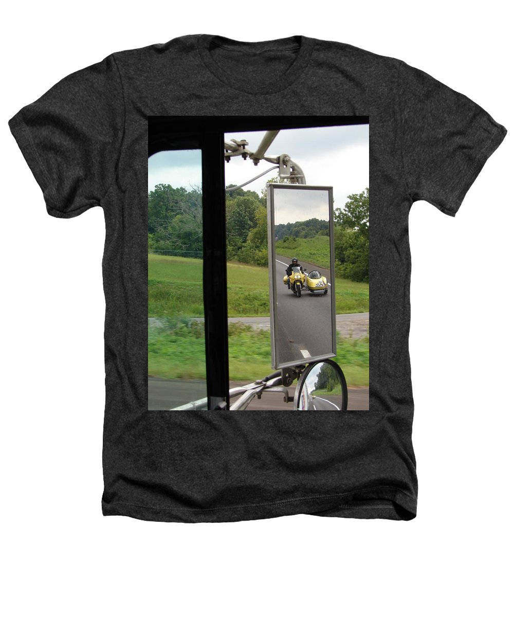 Truck Heathers T-Shirt featuring the photograph Side Car Framed by J R  Seymour