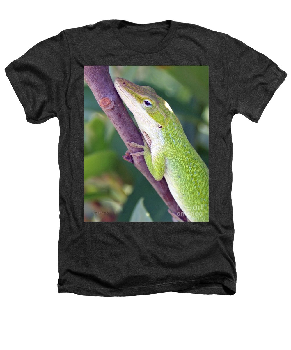 Animal Heathers T-Shirt featuring the photograph Smile by Shelley Jones