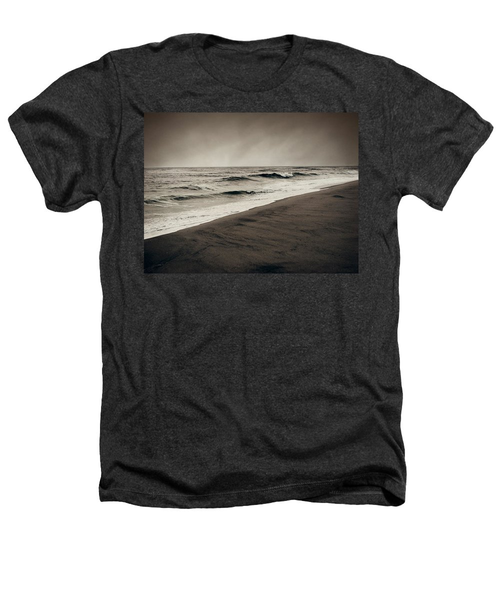 Ocean Heathers T-Shirt featuring the photograph Spending My Days Escaping Memories by Dana DiPasquale
