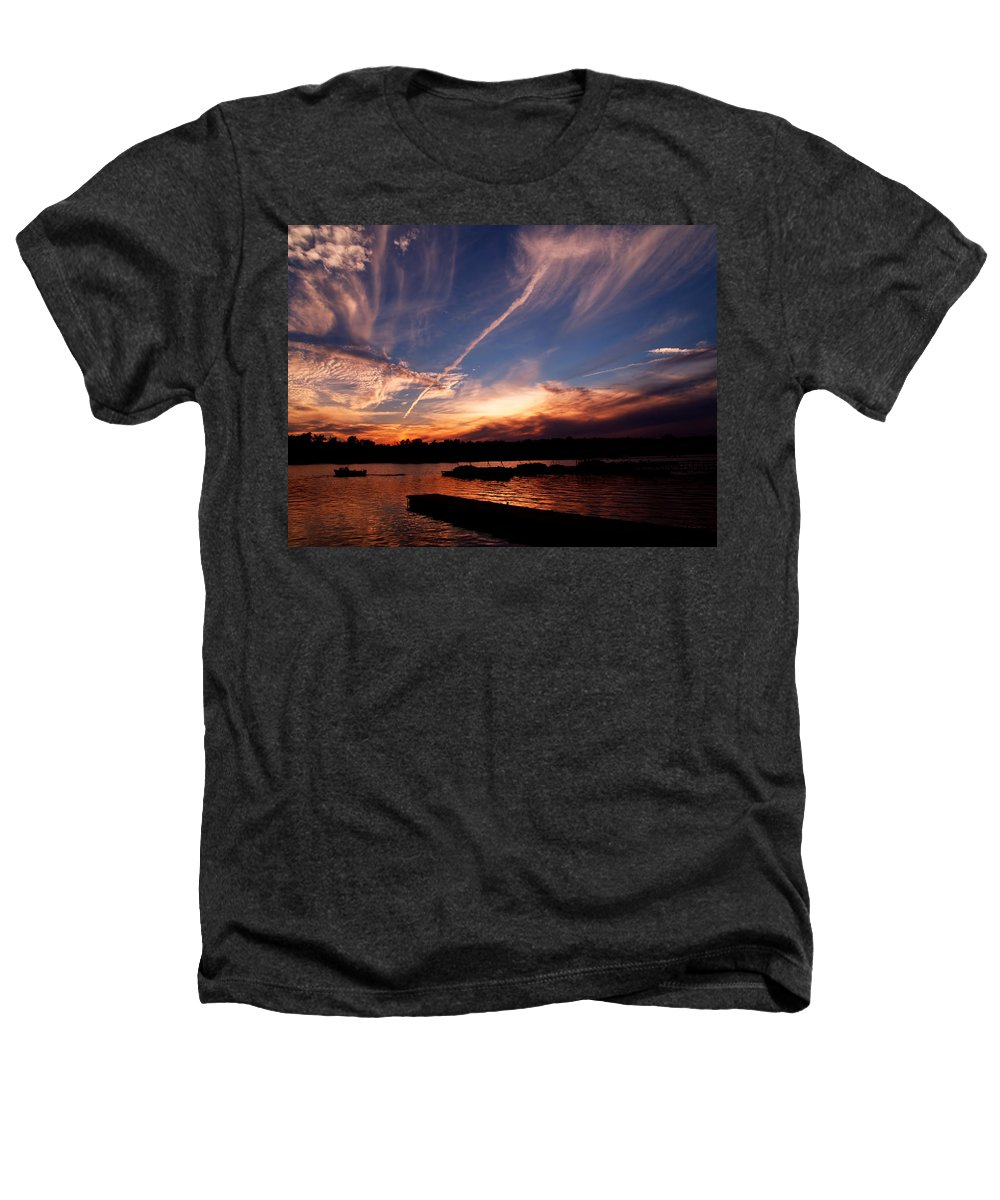 Sky Heathers T-Shirt featuring the photograph Spirits In The Sky by Gaby Swanson