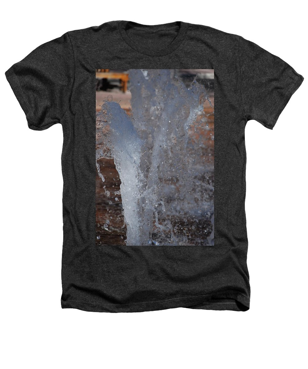 Water Heathers T-Shirt featuring the photograph Splash by Rob Hans