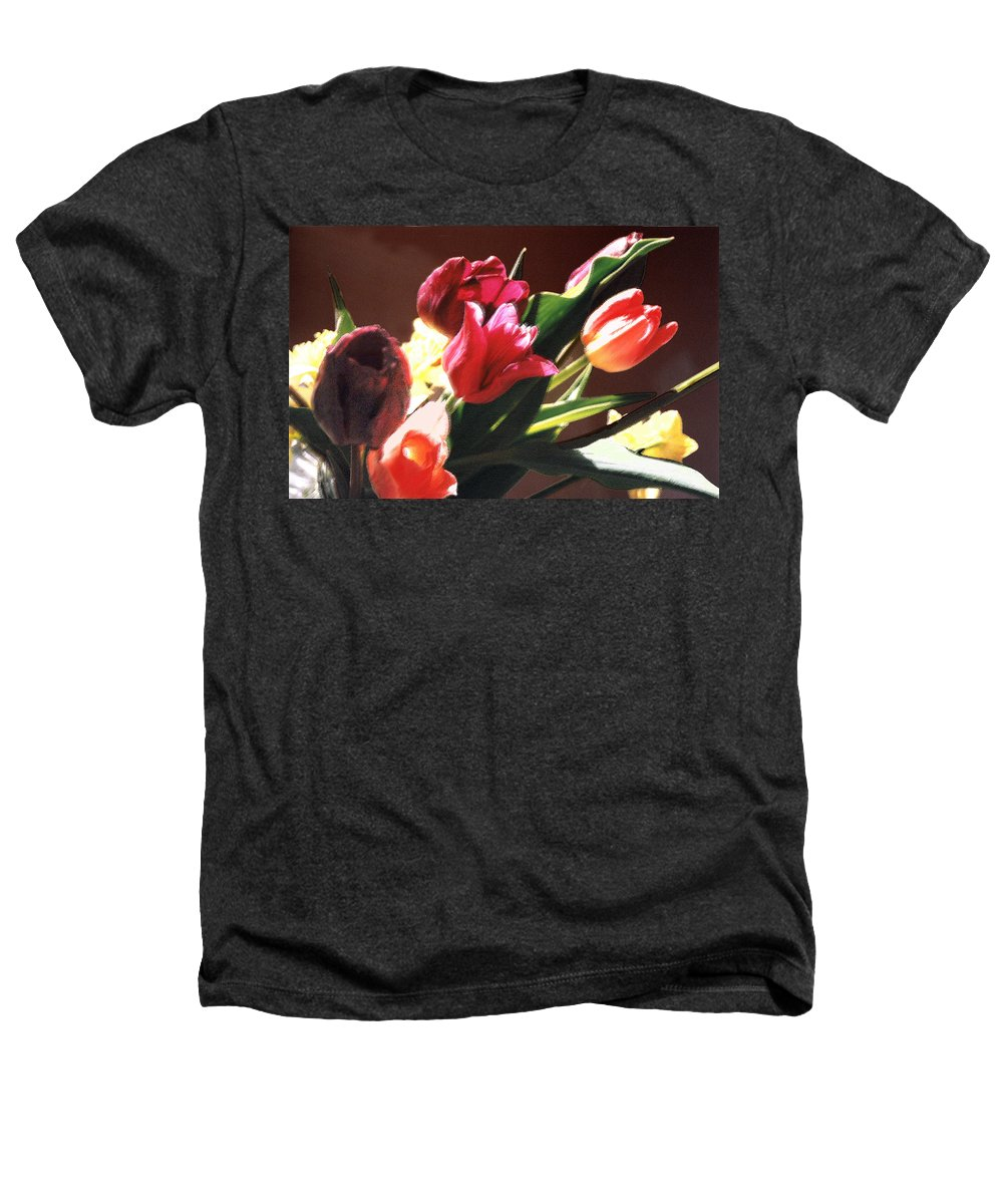 Floral Still Life Heathers T-Shirt featuring the photograph Spring Bouquet by Steve Karol