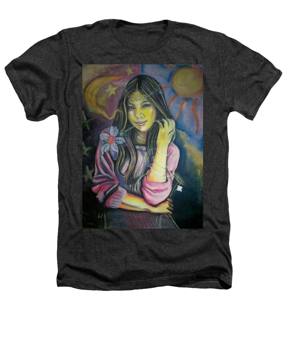 Pastels Heathers T-Shirt featuring the pastel Spring Is In The Air by Americo Salazar