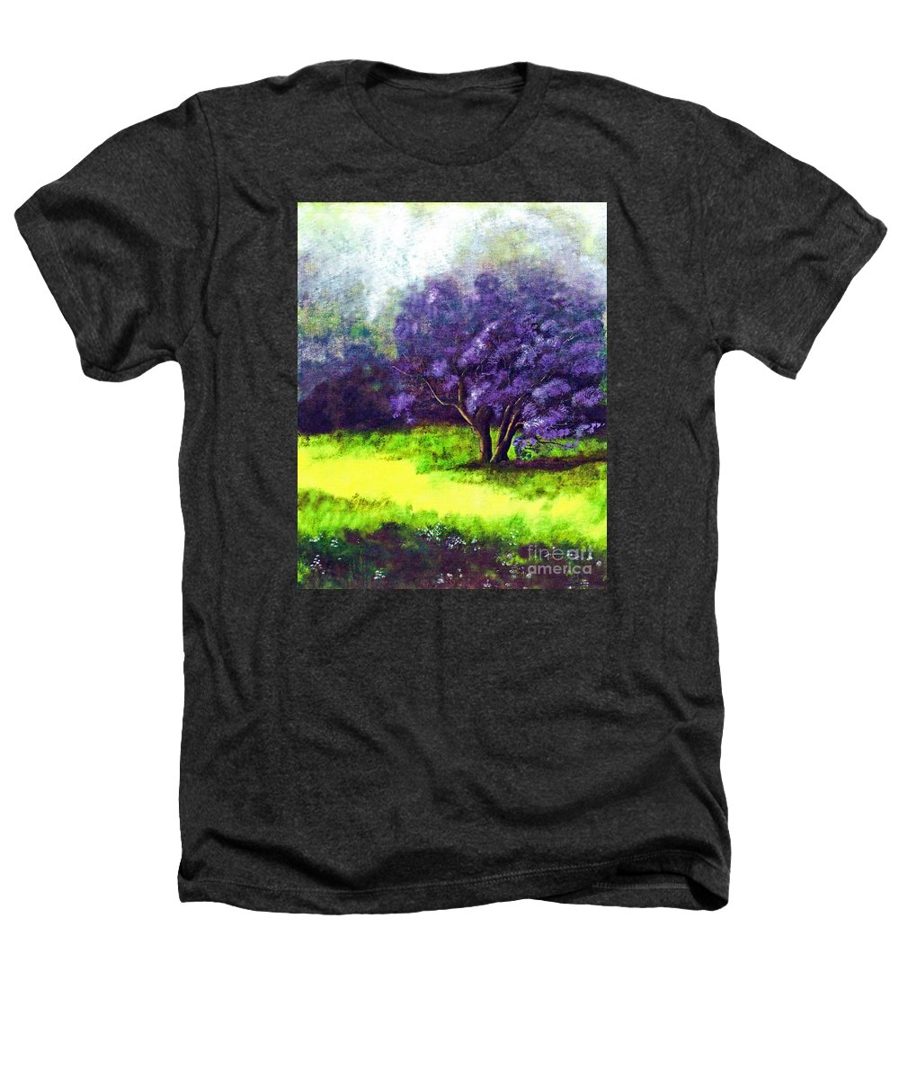 Fine Art Print Heathers T-Shirt featuring the painting Summer Mist by Patricia Griffin Brett
