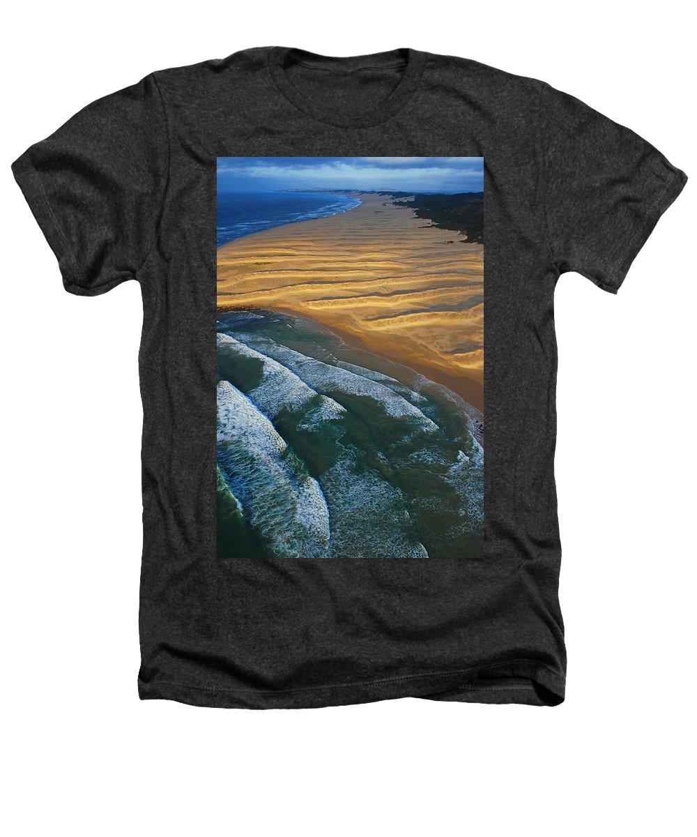 Coast Heathers T-Shirt featuring the photograph Sun Rise Coast by Skip Hunt