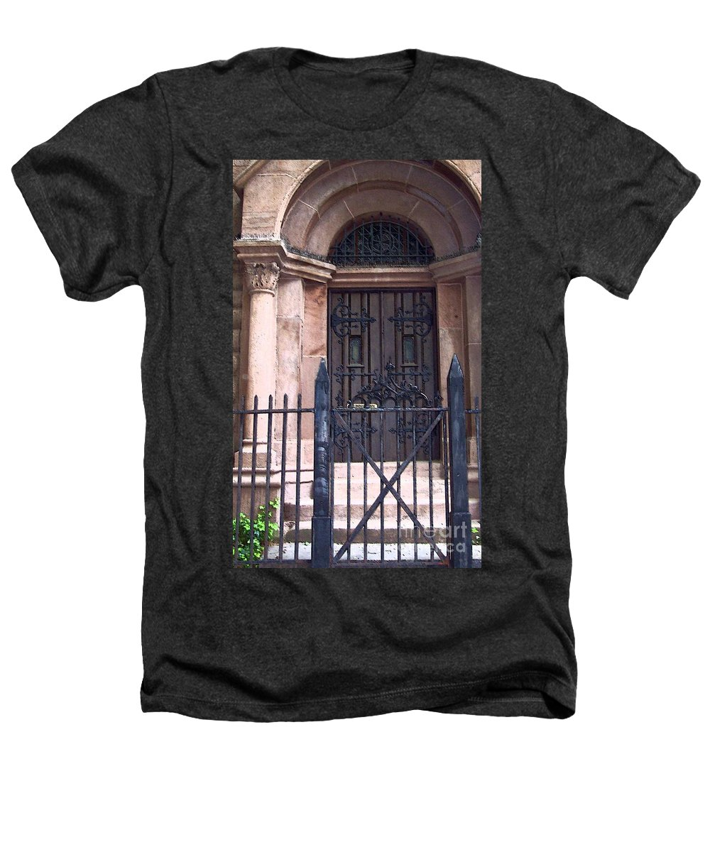 Church Heathers T-Shirt featuring the photograph Sunday by Debbi Granruth