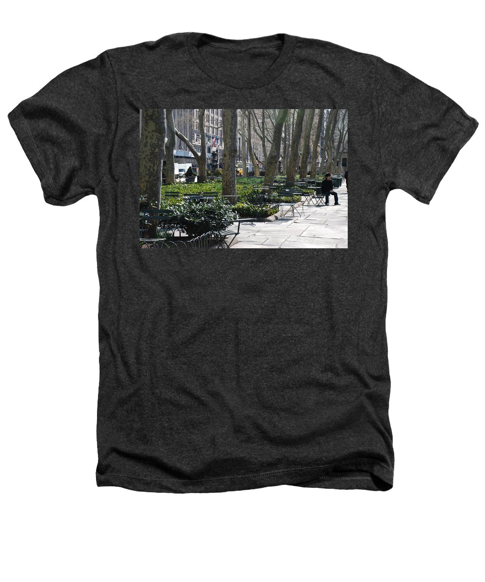 Parks Heathers T-Shirt featuring the photograph Sunny Morning In The Park by Rob Hans
